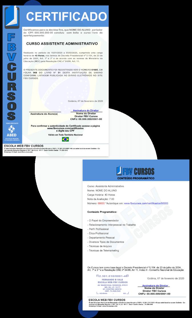 [Conheça nosso certificado]